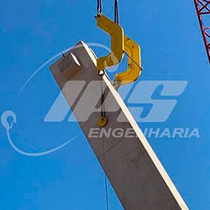 Verticalização de Pilares com Dispositivo C